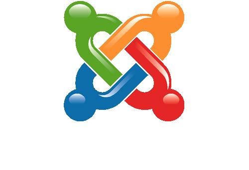 Joomla Logo Vert Color Rev
